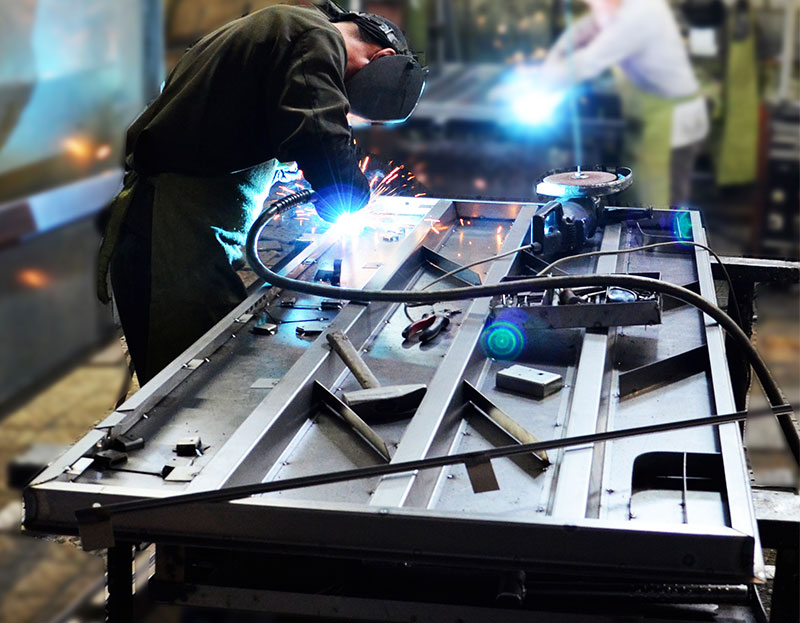 изготовление металлических двери